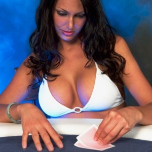 Female Poker Player