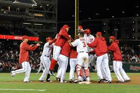 Nats and Reds Clinch Wild Card Sports