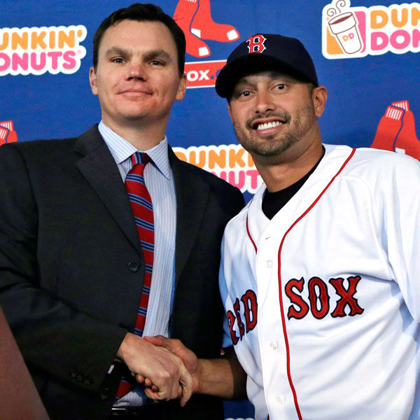 Shane Victorino Signs with Red Sox