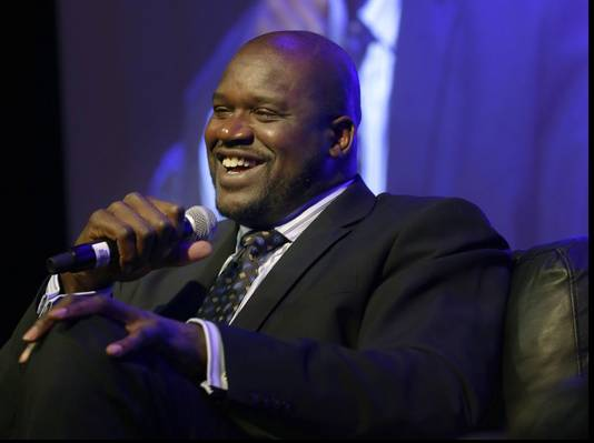 Shaquille O'Neal Speaks to the NCAA Convention
