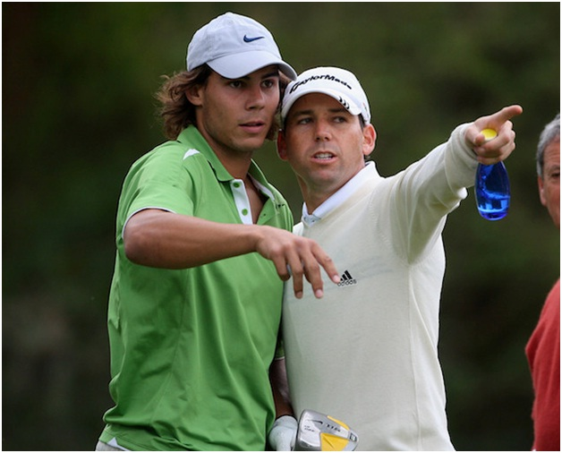 Rafa Nadal & Sergio Garcia