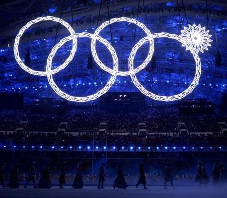Sochi Olympics Opening Fail