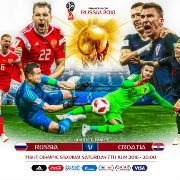 Russia vs Croatia World Cup 2018